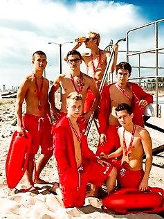 Watch the boys frolic the beautiful beaches...